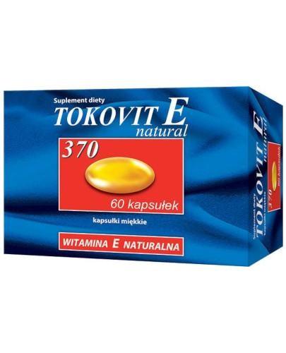 Tokovit E Natural 370 60 kapsułek