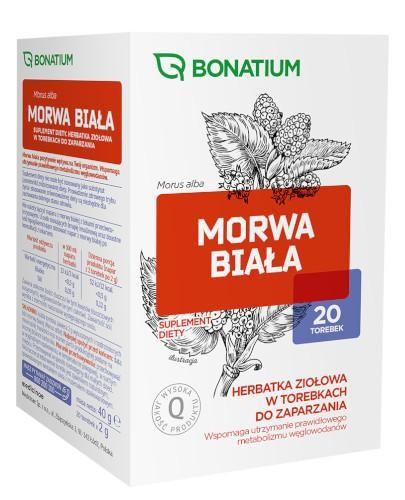 Bonatium Morwa biała herbatka ziołowa 20 torebek