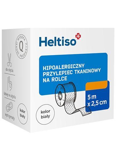 Heltiso przylepiec tkaninowy 5m x 2,5cm 1 sztuka