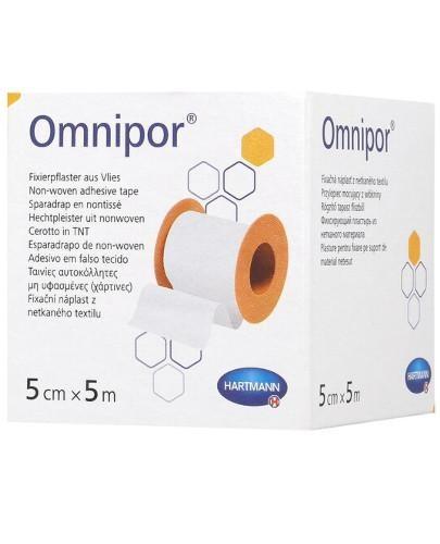Omnipor przylepiec hipoalergiczny z włókniny 5 cm x 5 m 1 sztuka