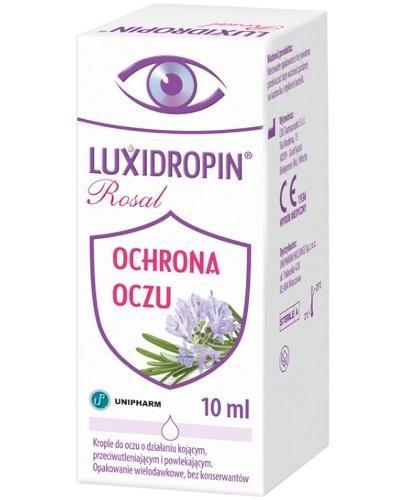 Luxidropin Rosal krople do oczu 10 ml