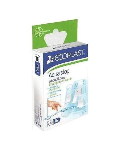 EcoPlast Wodoodporny zestaw plastrów medycznych poliuretanowych 16 sztuk