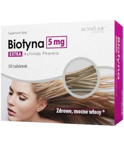 ActivLab Biotyna Extra 5mg 50 tabletek