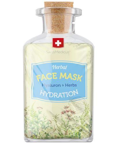 SwissMedicus nawilżająca ziołowa maseczka do twarzy 17 ml