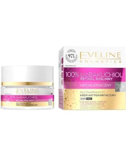 Eveline BioBakuchiol multinaprawczy krem antygrawitacyjny 70+ 50 ml