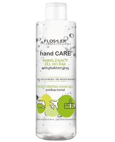 Flos-Lek Hand Care nawilżający żel do rąk antybakteryjny 380 ml