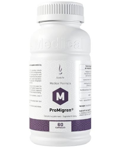 DuoLife Medical Formula ProMigren 60 kapsułek