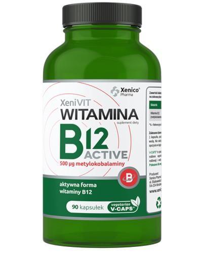 XeniVIT Witamina B12 Active 90 kapsułek