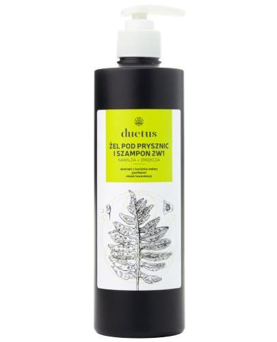 Duetus żel pod prysznic i szampon 2w1 500 ml