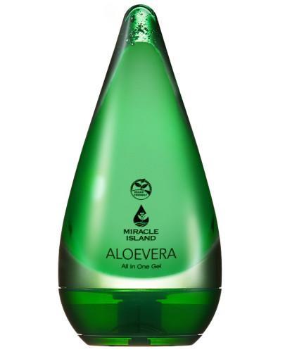 Miracle Island Aloe Vera 99% żel aloesowy do twarzy i ciała 250 ml