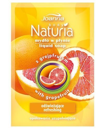 Joanna Naturia mydło w płynie Grejpfrut zapas 300 ml