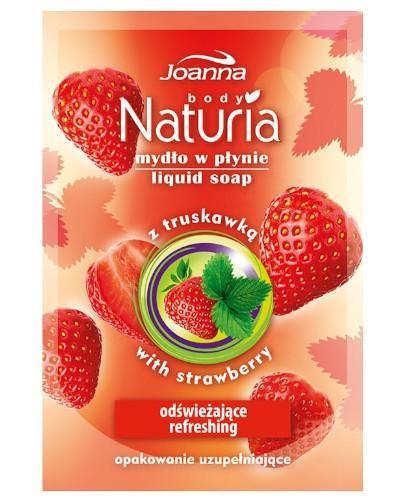 Joanna Naturia mydło w płynie Truskawka zapas 300 ml