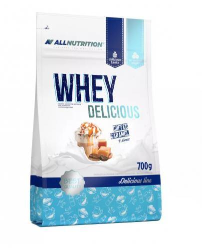 Allnutrition Whey Delicious odżywka białkowa smak kawa-karmel 700 g