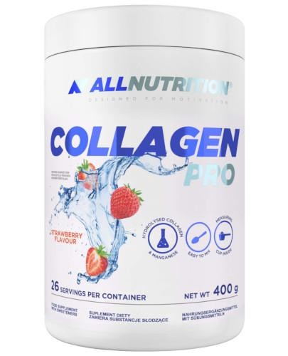 Allnutrition Collagen Pro o smaku truskawkowym 400 g