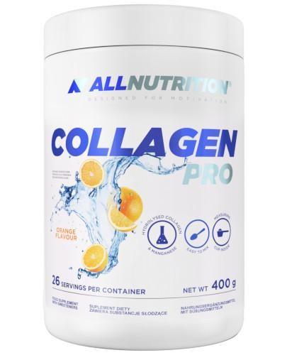 Allnutrition Collagen Pro o smaku pomarańczowym 400 g