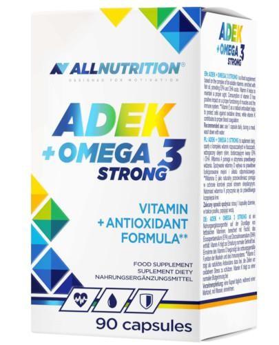 Allnutrition ADEK + Omega 3 Strong 90 kapsułek