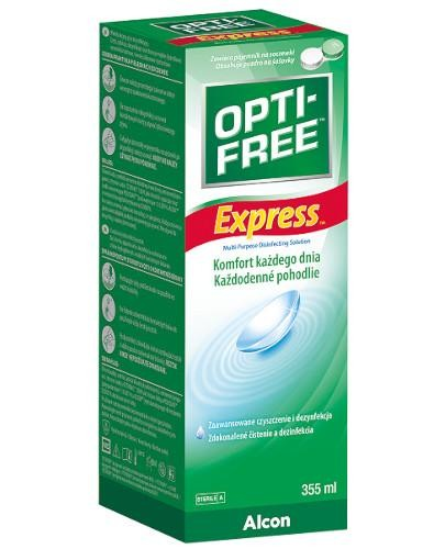 Opti-Free Express wielofunkcyjny płyn dezynfekcyjny 355 ml