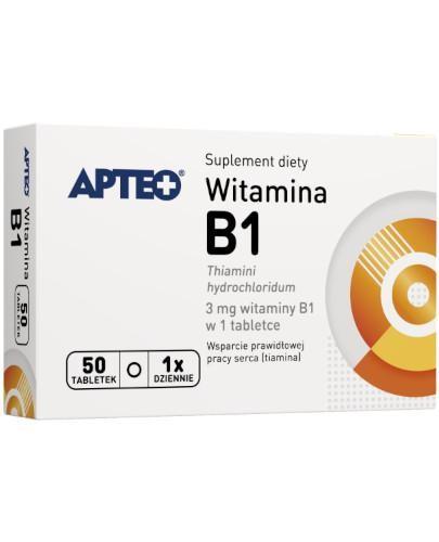 Apteo Witamina B1 3mg 50 tabletek