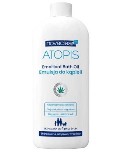 Novaclear Atopis emulsja do kąpieli 500 ml