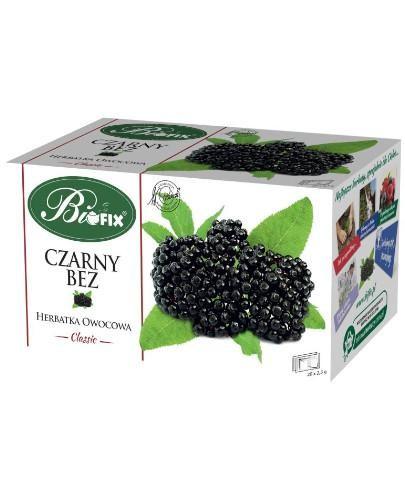 BiFix Czarny bez herbatka owocowa 20 saszetek