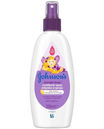 Johnsons Baby Strength Drops odżywka w sprayu 200 ml