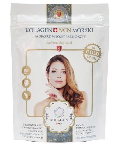 Kolagen NCN Morski Gold 100% kolagenu proszek 100 g
