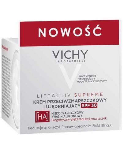 Vichy Liftactiv Supreme krem przeciwzmarszczkowy i ujędrniający SPF30 50 ml + Minera...