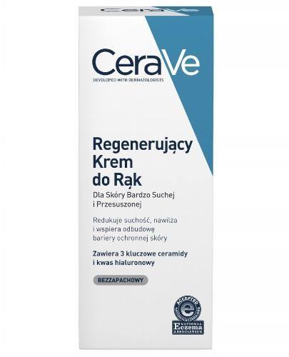 CeraVe regenerujący krem do rąk dla skóry bardzo suchej i przesuszonej 100 ml