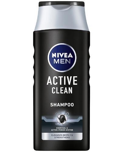 Nivea Men Active Clean szampon 400 ml