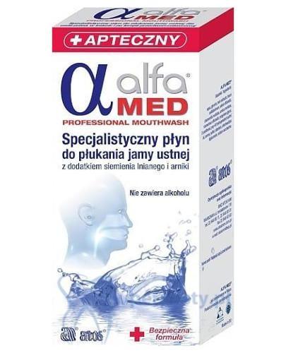 Alfa Med specjalistyczny płyn do płukania jamy ustnej 200 ml