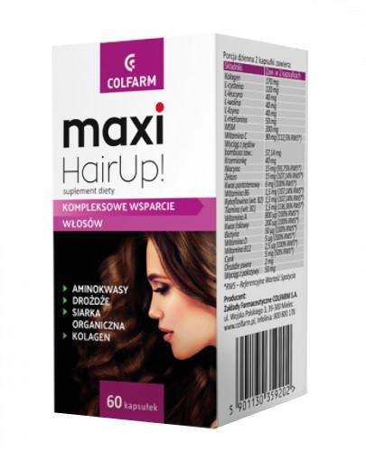 Colfarm Maxi HairUp 60 kapsułek