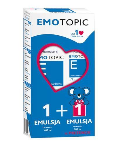 Pharmaceris E Emotopic emulsja do kąpieli 400 ml + 200 ml [ZESTAW]