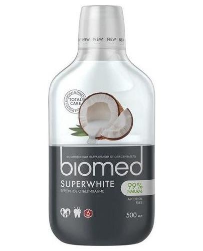 Biomed Superwhite płyn do płukania jamy ustnej 500 ml