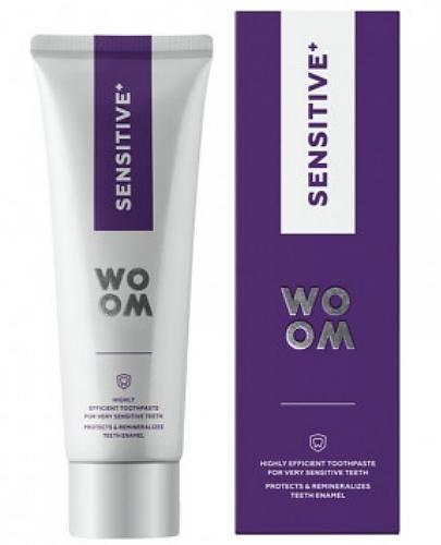 Woom Sensitive+ pasta do bardzo nadwrażliwych zębów 75 ml
