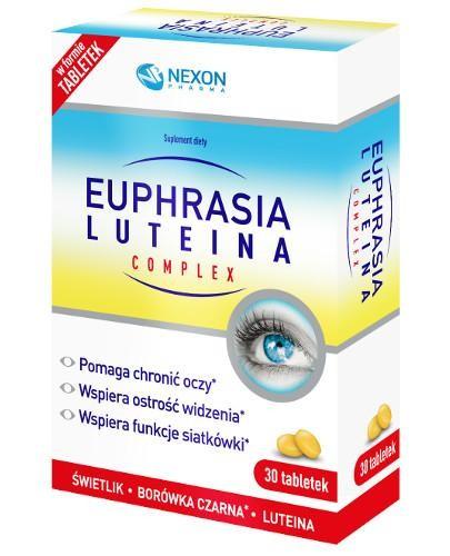 Euphrasia Luteina Complex 30 tabletek