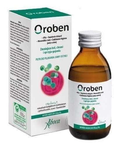 Aboca Oroben płyn do płukania jamy ustnej 150 ml