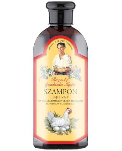 Babuszka Agafia szampon ziołowo-jajeczny 350 ml