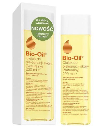 Bio-Oil olejek do pielęgnacji skóry (naturalny) 200 ml