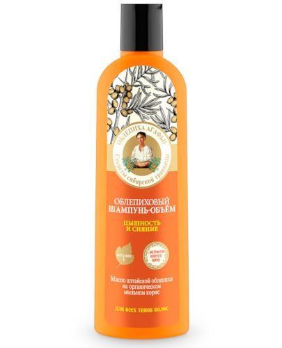 Babuszka Agafia szampon do włosów zwiększający objętość rokitnik 280 ml