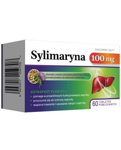 Sylimaryna 100 mg 60 tabletek