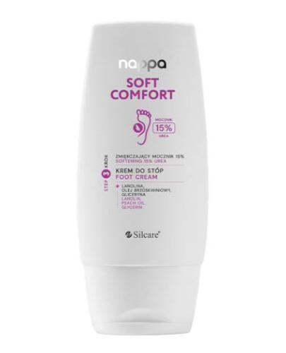 Silcare Nappa Soft Comfort zmiękczający krem do stóp mocznik 15% 100 ml  [KUP 2 produkt...