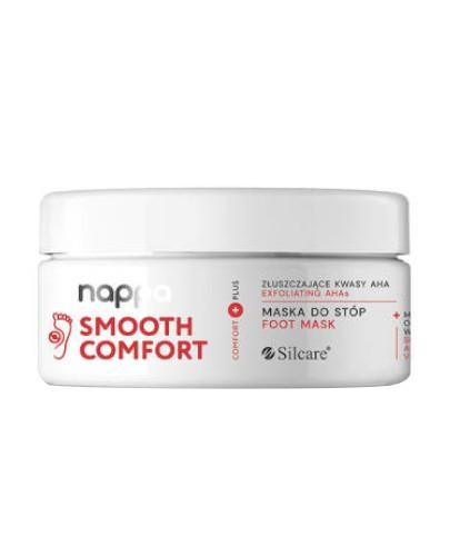 Silcare Nappa Smooth Comfort maska do stóp z kwasami AHA 250 g  [KUP 2 produkty Silcar...