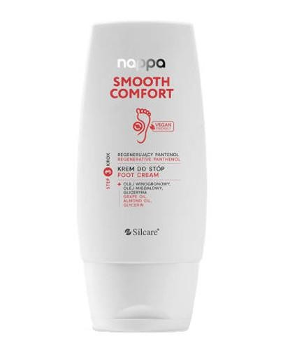 Silcare Nappa Smooth Comfort regenerujący krem do stóp 100 ml  [KUP 2 produkty Silcar...