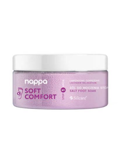 Silcare Nappa Soft Comfort sól do stóp lawendowa 400 g  [KUP 2 produkty Silcare = maseł...