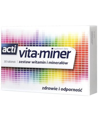 Acti Vita-miner 30 tabletek