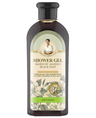 Babuszka Agafia nawilżający żel pod prysznic na bazie czarnego mydła 350 ml