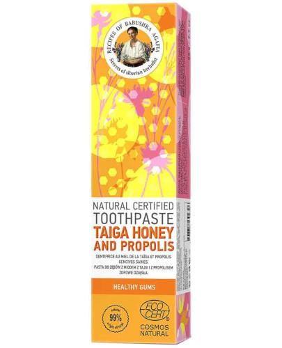 Babuszka Agafia pasta do zębów z miodem i propolisem 85 g