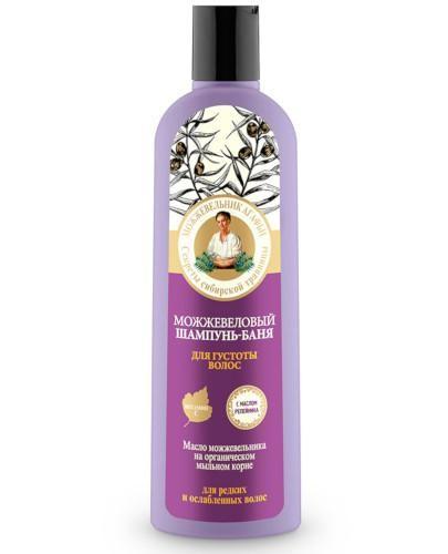 Babuszka Agafia szampon do włosów cienkich i osłabionych z olejkiem jałowca 280 ml