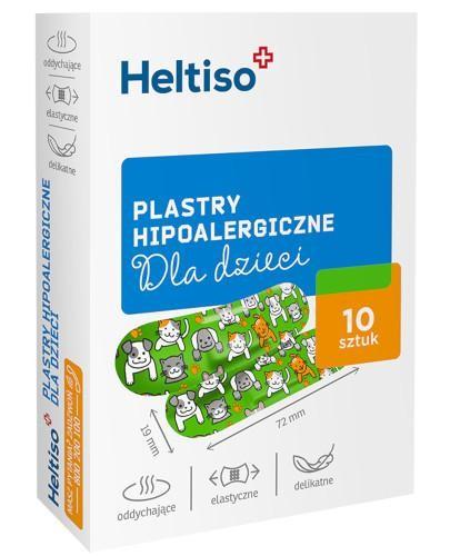 Heltiso plastry hipoalergiczne dla dzieci 10 sztuk