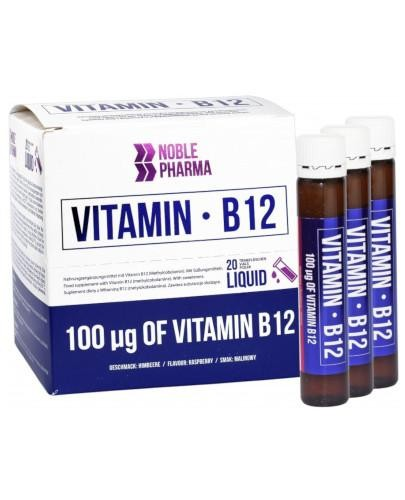 Noble Pharma Witamina B12 20 ampułek po 25 ml